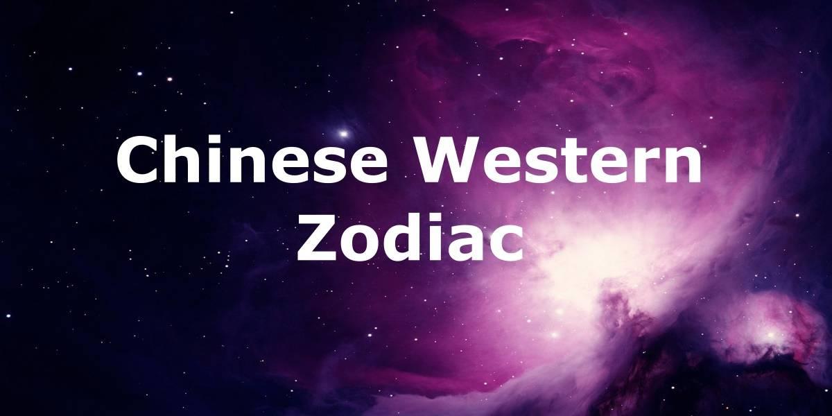 Chinese Western Zodiac Combinations