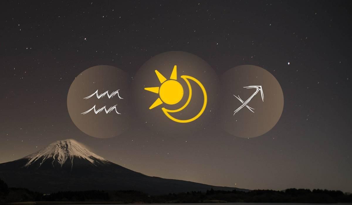 Aquarius Sun Sagittarius Moon