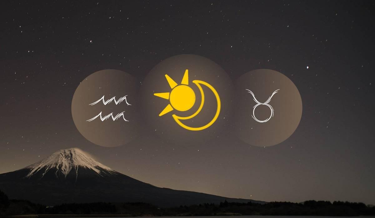 Aquarius Sun Taurus Moon