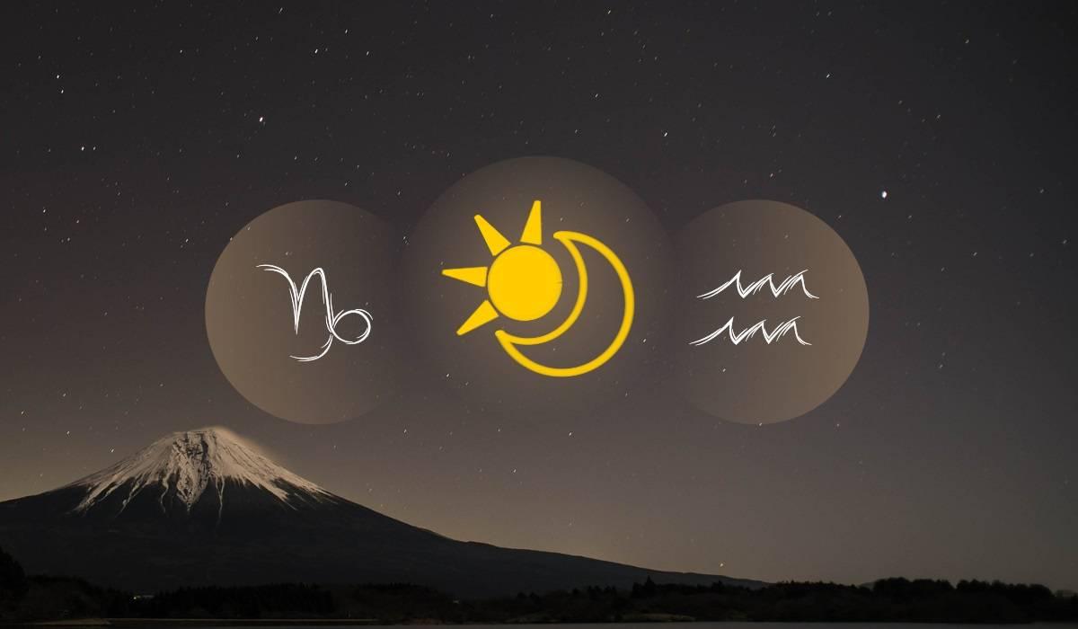 Capricorn Sun Aquarius Moon