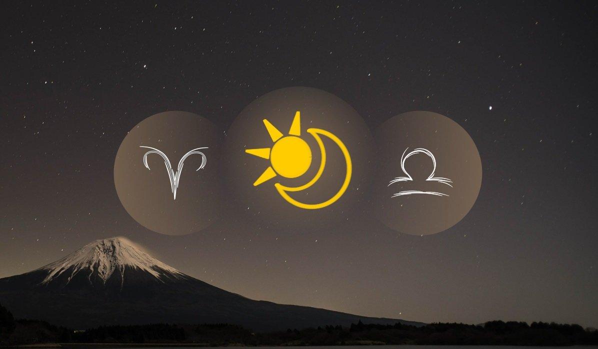 Aries Sun Libra Moon