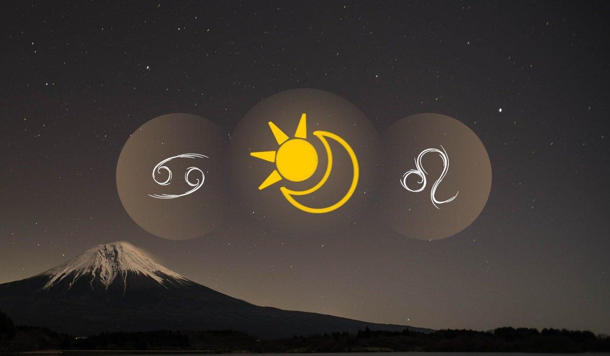 Cancer Sun Leo Moon
