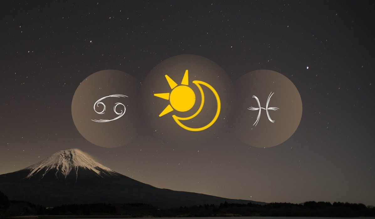 Cancer Sun Pisces Moon
