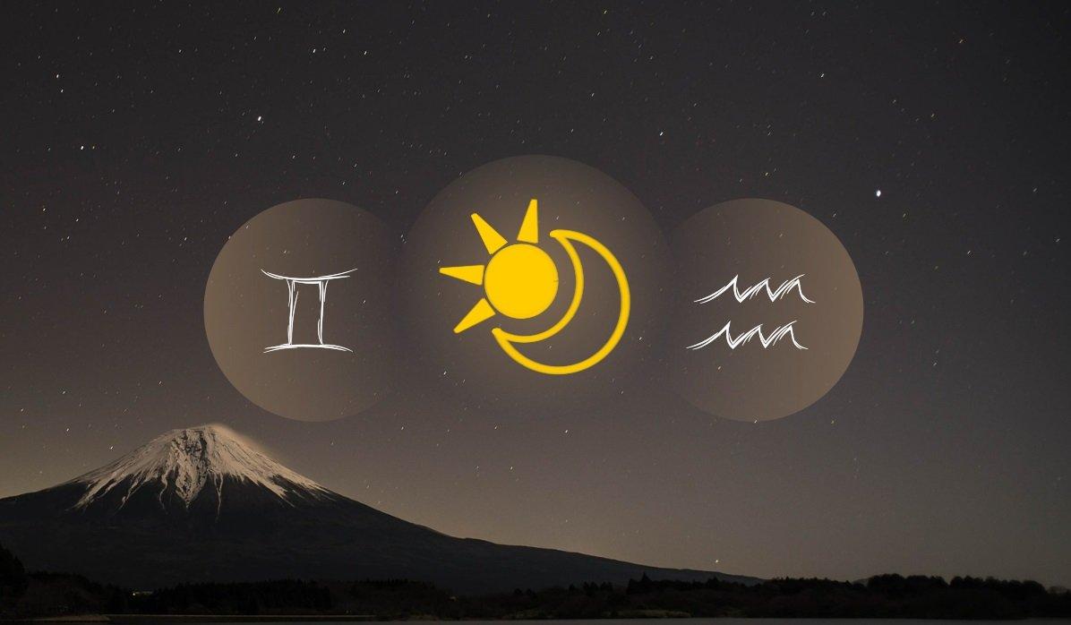 Gemini Sun Aquarius Moon