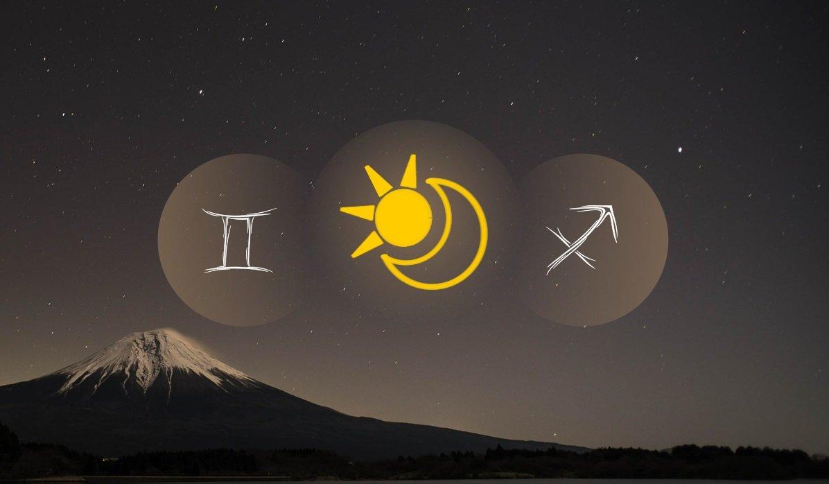 Gemini Sun Sagittarius Moon