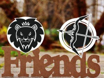 Leo and Sagittarius Friendship