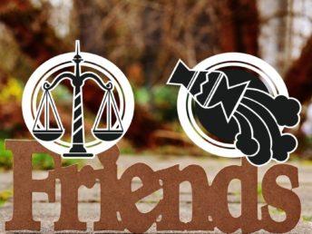 Libra and Aquarius Friendship