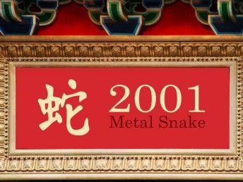2001 Metal Snake Year