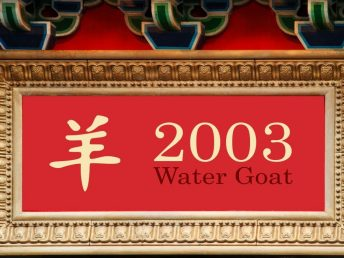 2003 Water Goat Year