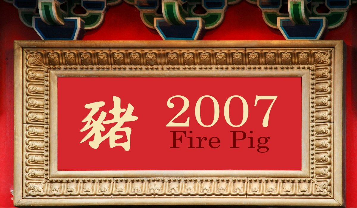 2007 Fire Pig Year