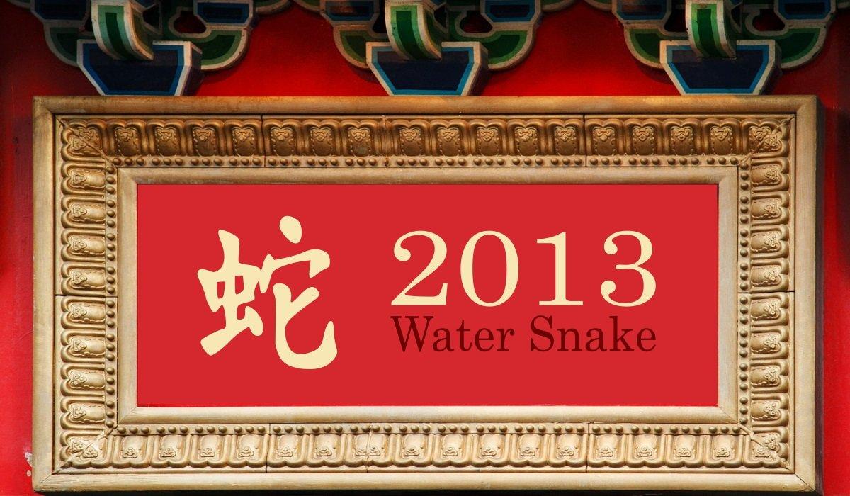 2013 Water Snake Year