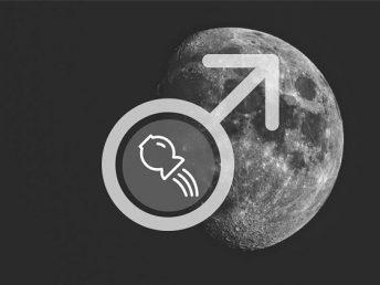 Moon in Aquarius man