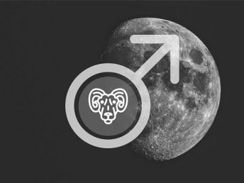 Moon in Aries man