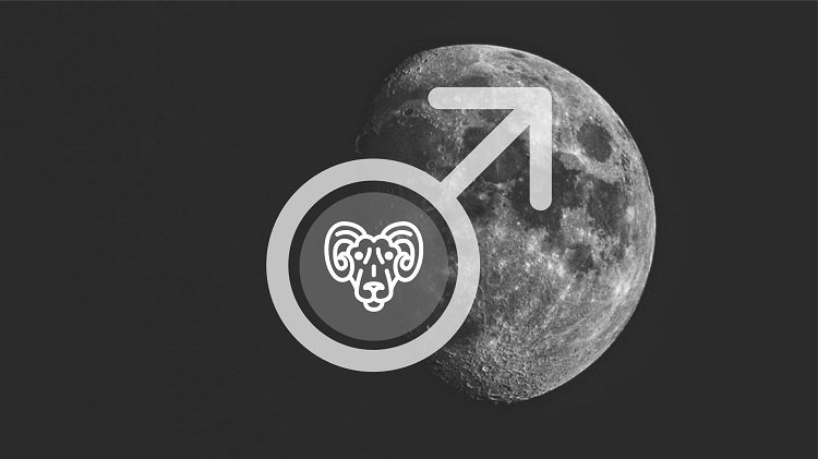 Moon in Aries man