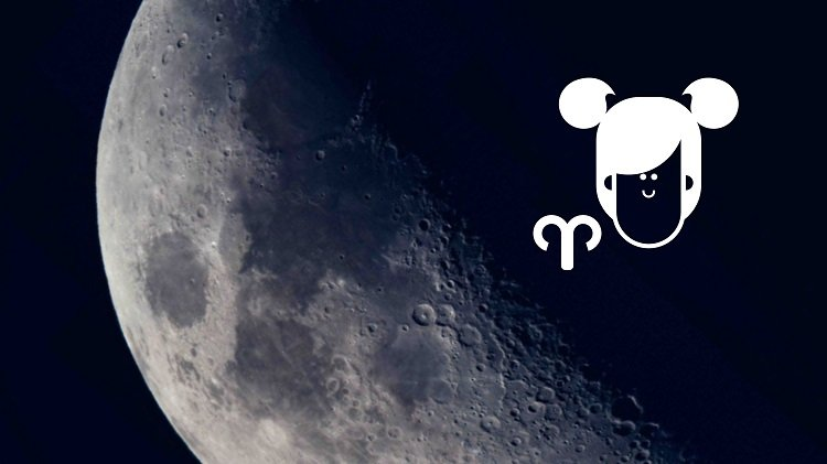Moon in Aries woman