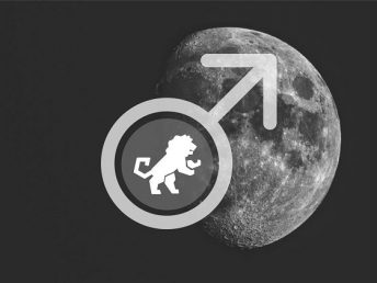 Moon in Leo man