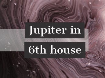 Jupiter in 6th house