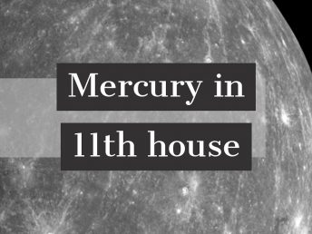 Mercury in 11th house