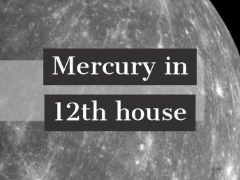 Mercury in 12th house