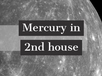 Mercury in 2nd house