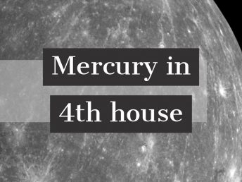 Mercury in 4th house