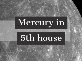 Mercury in 5th house