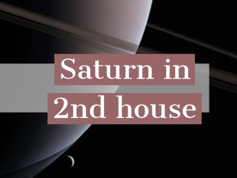Saturn in 2nd hous