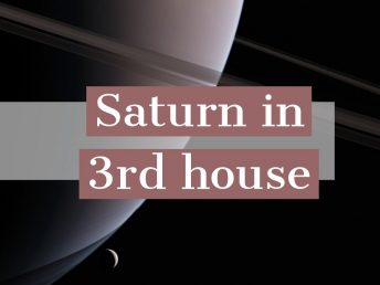 Saturn in 3rd house