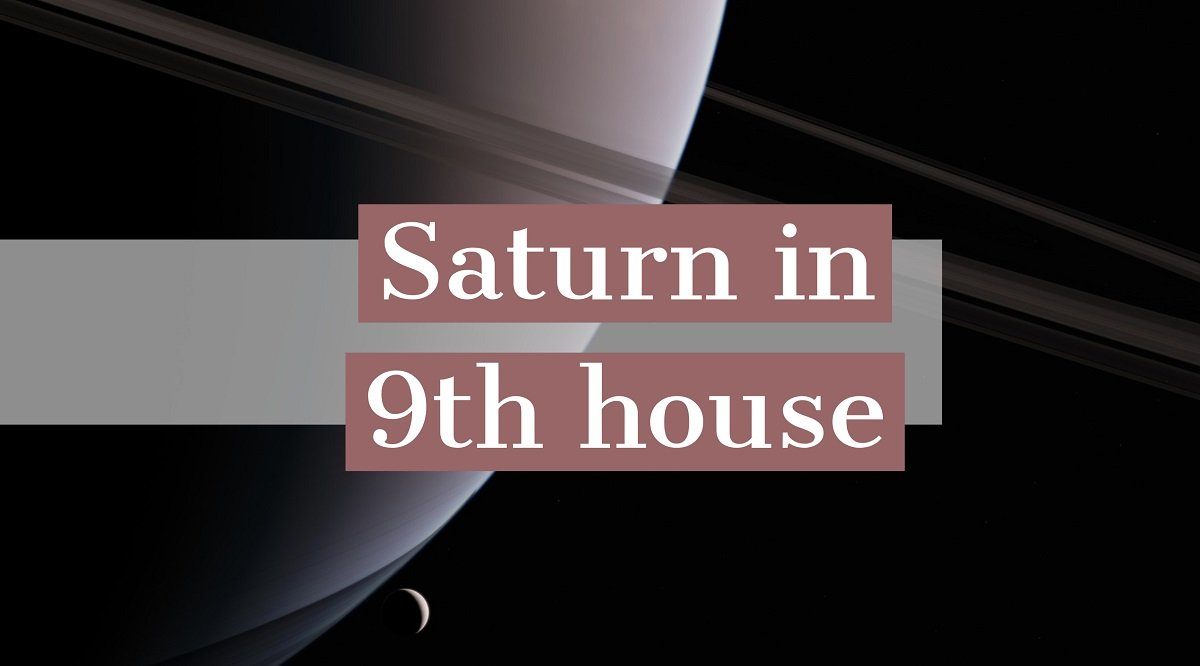 Saturn in 9th house