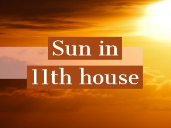 Sun in 11th house