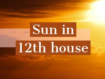 Sun in 12th house