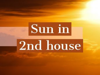 Sun in 2nd house