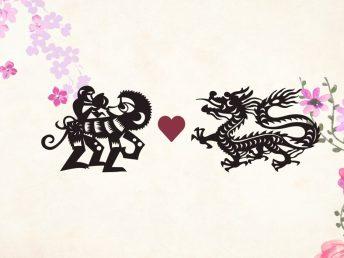 Monkey man Dragon woman compatibility