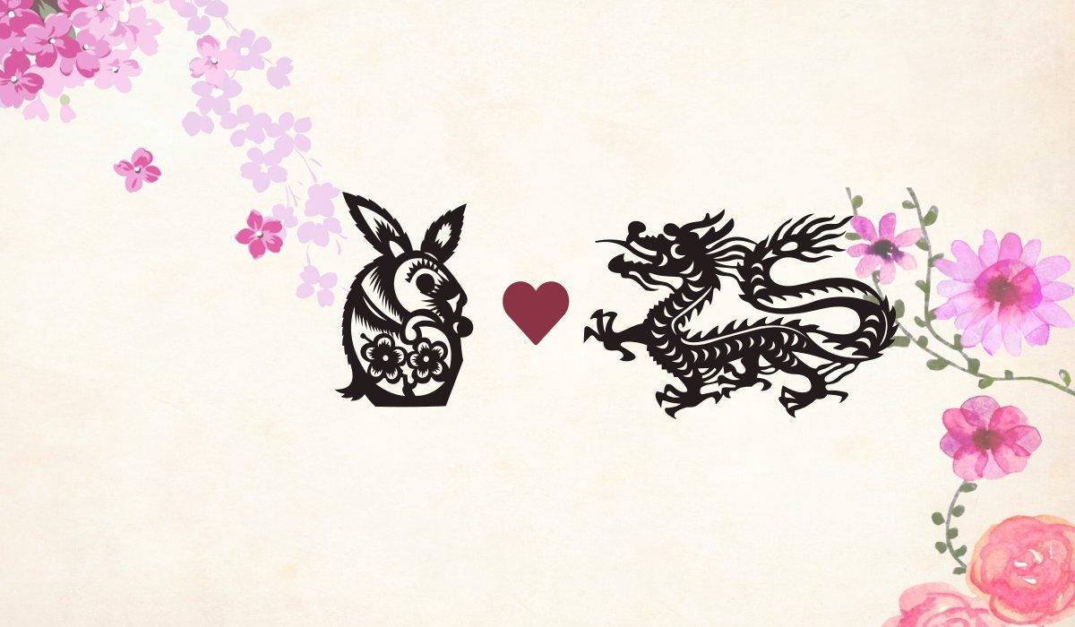 Rabbit man Dragon woman compatibility