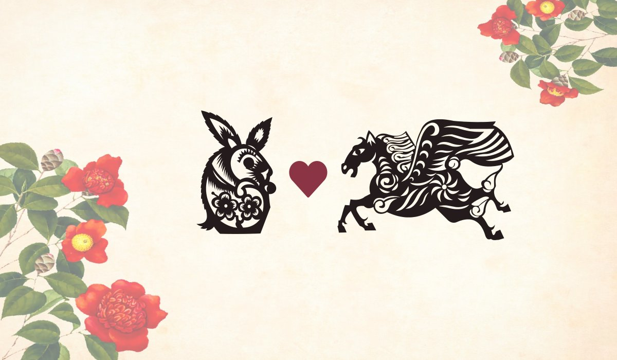 Rabbit man Horse woman compatibility