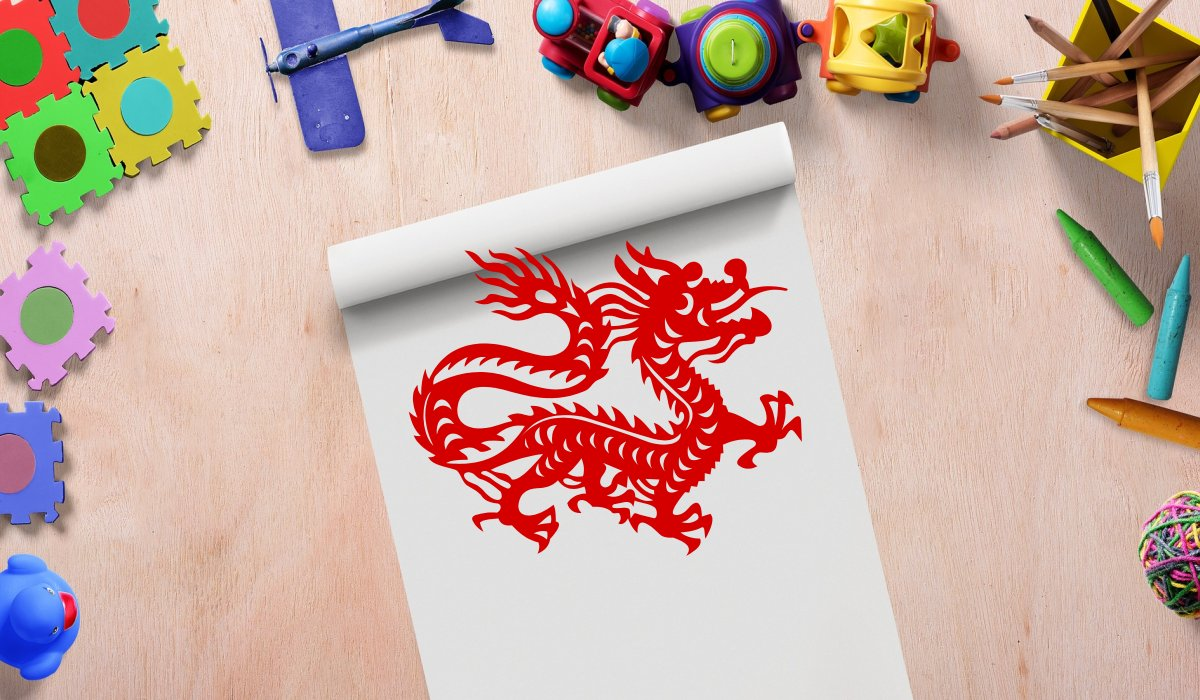 Chinese Dragon Child