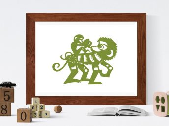 Chinese Monkey Child