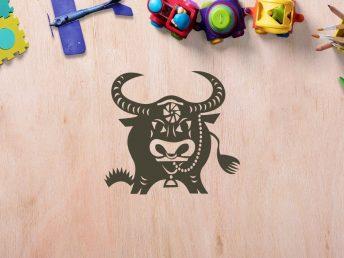 Chinese Ox Child