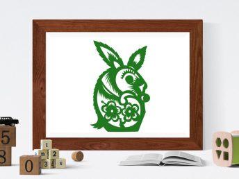 Chinese Rabbit Child